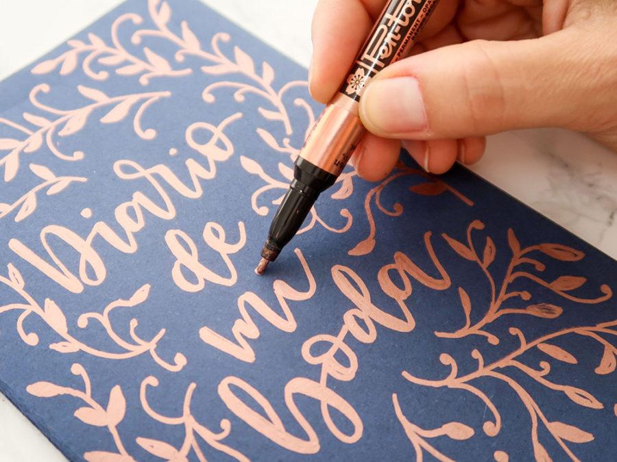 Curso Online lettering con rotuladores Escuela Project Party