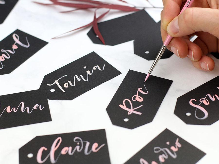 Curso Online de Lettering con Pincel