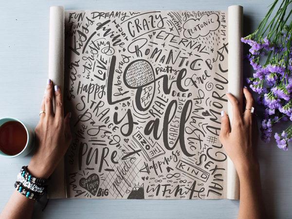 Taller presencial online de Lettering