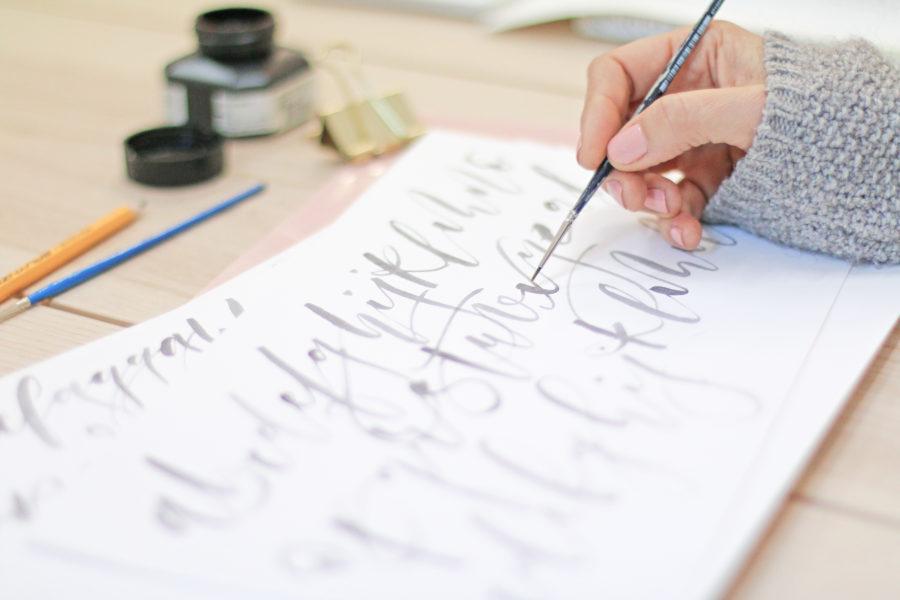 Taller de lettering presencial online