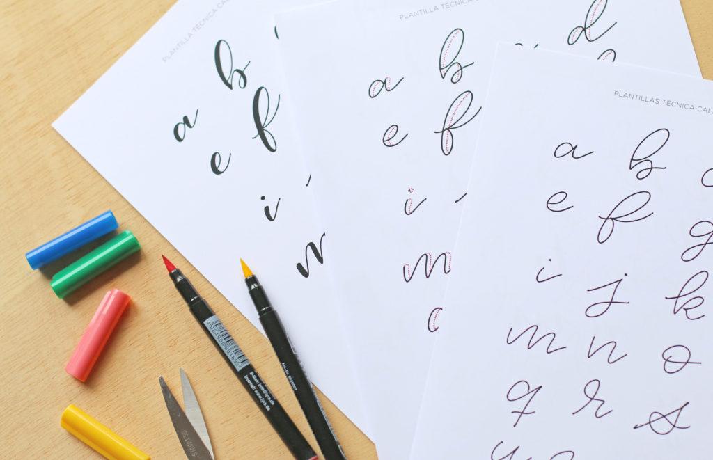 caligrafía para niños
