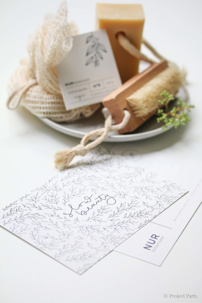 Jabones naturales - Branging y packaging para NURbotanicals