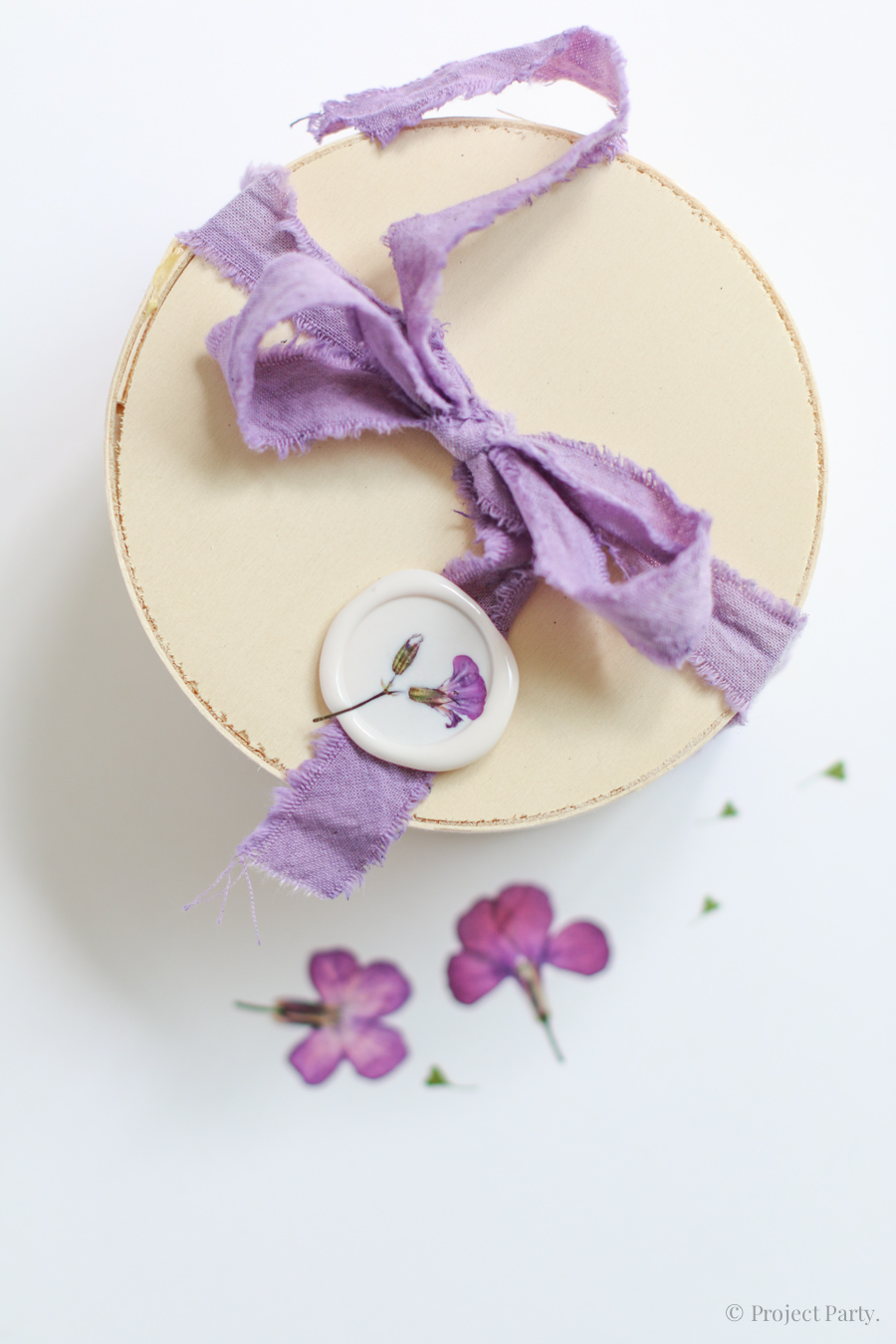Cómo hacer tinte natural lila