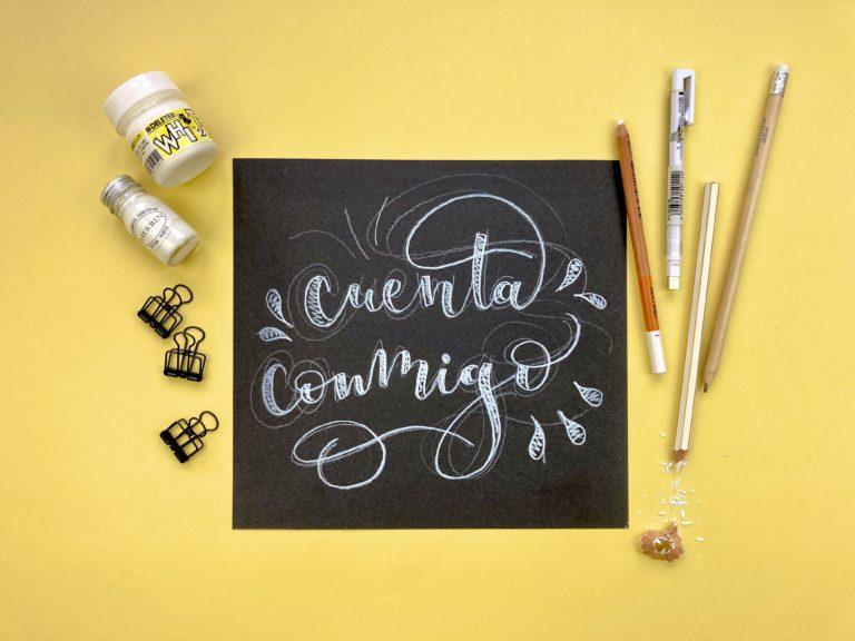Beneficios del lettering para niños y niñas