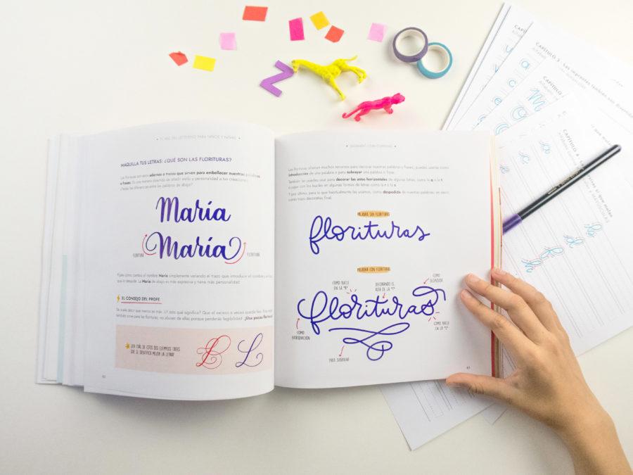 Escuela Project Party - Libro ABC del lettering para niños y niñas